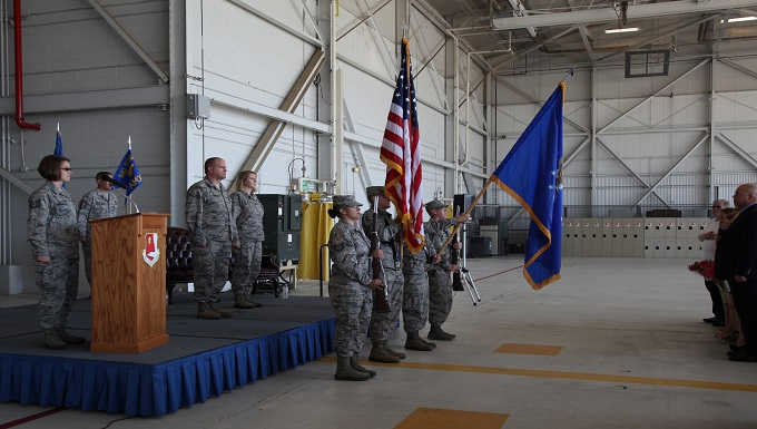 Lt. Col. Paula Ross assumes command of 940th Aircraft Maintenance Squadron
