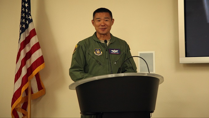Lt. Col. Roland Tsui assumes command of 314th Air Refueling Squadron