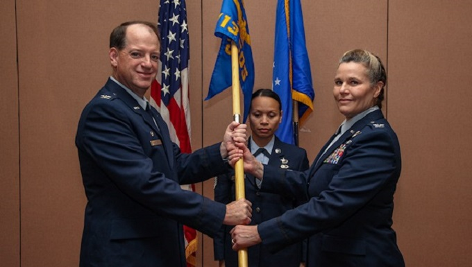 Col. Marty assumes command of the 713th Combat Operations Squadron